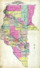 Canyon County Outline Map, Canyon County 1915