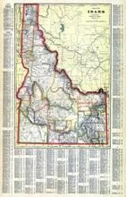 Idaho State Map, Canyon County 1915