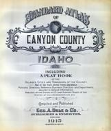Canyon County 1915