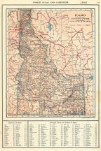 Idaho State Map 1917, Idaho State Map 1917