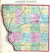 County Map, Adams County 1872