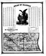Atlas of Illinois General Reference, Counties of McHenry & Lake, Bond County 1875 Microfilm