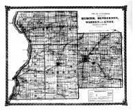 Mercer, Henderson, Warren, Knox, Bond County 1875 Microfilm