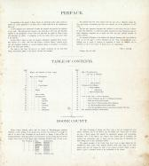Table of Contents, Boone County 1886