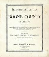 Title Page, Boone County 1886