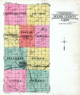 County Map, Boone County 1923