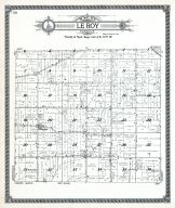 Le Roy Township, Boone County 1923