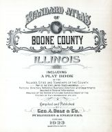 Title Page, Boone County 1923