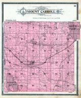 Mount Carroll Township, Hickory Grove, Mount Carroll, Carroll County 1908