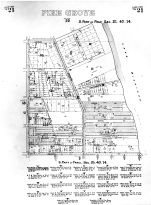 Sheet 021 - Lake View, Pine Grove, Cook County 1887 Lakeview Township