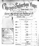 Index, Title Page, Cook County 1891