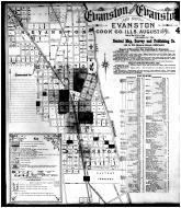 Sheet 004 - Evanston, South Evanston, North Evanston