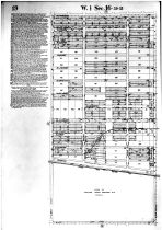Page 019 W Sec 16 39 - 13, Cook County 1913 Cicero Township