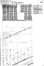 Page 048 W Sec 34 39 - 13, Cook County 1913 Cicero Township