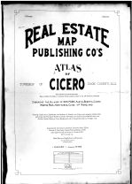 Title Page, Cook County 1913 Cicero Township