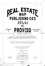 Title Page, Cook County 1914 Proviso Township