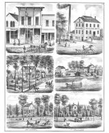Wright, Cox and Jacobs, Haish, Vaughan, Butts, DeKalb County 1871