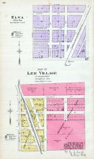 Elva, Lee Village - Part, DeKalb County 1892