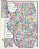 State Map, DeKalb County 1892