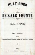 Title Page, DeKalb County 1892