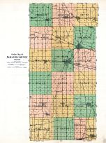 County Outline Map, DeKalb County 1929