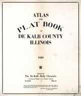 Title Page, DeKalb County 1929