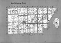 Index Map, DeWitt County 1990