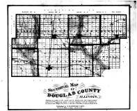 Douglas County 1875 Illinois Historical Atlas