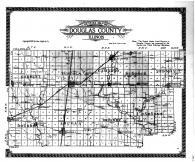 Douglas County Outline Map, Douglas County 1914 Microfilm