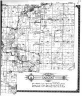 Murdock Township, Falbland, Sargent Township - Right, Douglas County 1914 Microfilm