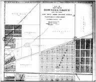 Downers Grove East Part - Above, DuPage County 1904