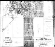 Downers Grove Middle Part - Below, DuPage County 1904