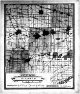 Du Page County Outline Map, DuPage County 1904