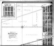 Hinsdale, Walkers Add, Clarendon Hills - Above, DuPage County 1904