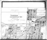 Naperville, Lisle & Naperville Townships - Above, DuPage County 1904