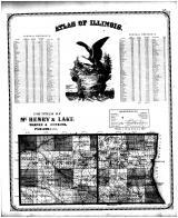 Illinois General Reference, Counties of McHenry & Lake, Edgar County 1870