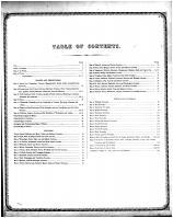 Table of Contents, Edgar County 1870