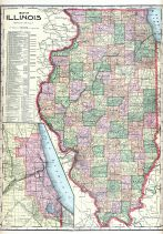 State Map, Edgar County 1910