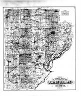 Fulton County Outline Map, Fulton County 1895