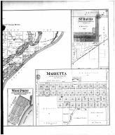 Liverpool, Maples Mills PO, West Point, Marietta, St David - Right, Fulton County 1895