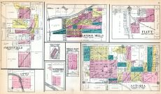 Smithfield, Otto, London Mills, Waterford, West Point, Middle Grove, Astoria, Fiatt, Fulton County 1912