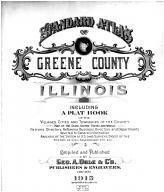 Title Page, Greene County 1915