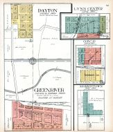 Dayton, Lynn Center, Osco, Green River, Morristown, Henry County 1911