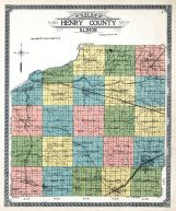 Henry County Outline Map, Henry County 1911