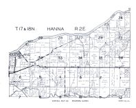Hanna Township, Cleveland, Green River, Rock River, Henry County 1950
