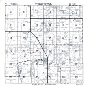 Yorktown Township, Hooppole, Henry County 1950
