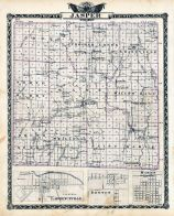 Jasper County Map. Lawrencevillle, Benton, Marion
