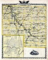 Livingston County Map, Pontiac