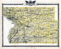 Madison County Map, Illinois State Atlas 1876