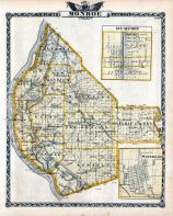 Monroe County Map, Du Quoin, Waterloo